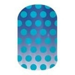 Jamberry Makeup - Jamberry Blue dot nail wraps December host